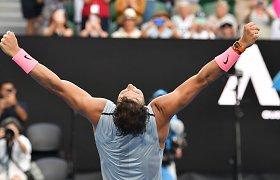 "Rafaelis Nadalis – ""Australian Open"" ketvirtfinalyje"