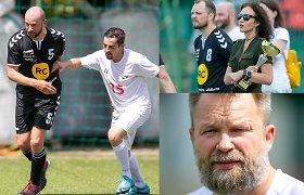 """Prieš Europos futbolo čempionato pradžią – LNK ir """"Radiocentro"""" rungtynės"""