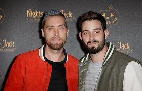 """""""'N Sync"""" narys Lance'as Bassas ir Michaelas Turchinas"""