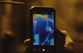 """Išmanusis """"CAT S62 Pro"""" telefonas – ne tik skambinimui, bet ir temperatūros matavimui"""