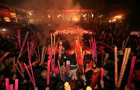 Pekinas dėl naujo viruso protrūkio atšaukė didelius kinų Naujujų metų sutiktuvių renginius