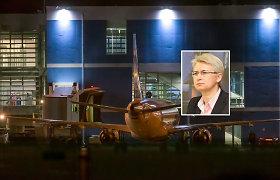 N.Venckienė – Lietuvoje, bet prokuroras pripažino – įtariama tik 4 nusikaltimais