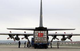 Turkijoje sudužo kariuomenės mokomasis lėktuvas, pilotai išgelbėti