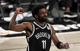 """""""Nets"""" pergale pradėjo Rytų konferencijos pusfinalį, bet prarado J.Hardeną"""