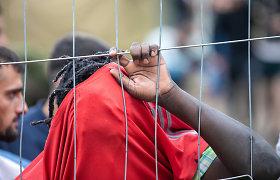 Pradėtas ikiteisminis tyrimas ir dėl riaušių migrantų stovykloje Rūdninkuose