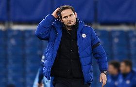 """Oficialu: """"Chelsea"""" atleido Franką Lampardą, aiškėja jo įpėdinis"""