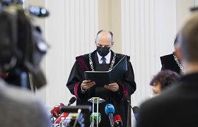 """G.Landsbergis nuteistojo Sausio 13-osios byloje sulaikymą vadina """"Lietuvos Niurnbergu"""""""