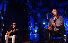 Olegas Ditkovskis ir Saulius Bareikis pristatys muzikinius dienoraščius Kauno publikai