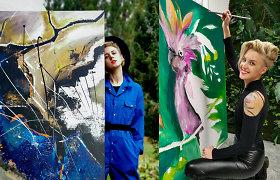 """Agnė metė gydytojos karjerą ir tapo menininke: """"Visiems buvo šokas"""""""
