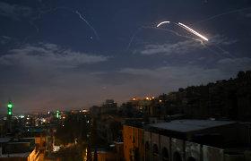 Per Izraelio smūgį Damasko prieigose žuvo šeši žmonės