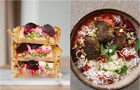 """Lengvų patiekalų sezonas: 2 receptai iš debiutinės """"KitchenJulie"""" knygos"""