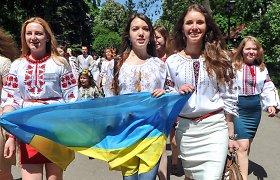 Ukrainą nuo Rusijos karo lauke gina ir moterys