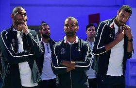 Nicolas Batumas atviras: prancūzai Rio per gerai apie save galvojo ir susimovė