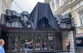 """Nacionalinio dramos teatro skulptūros """"Mūzos"""" atidarymas"""