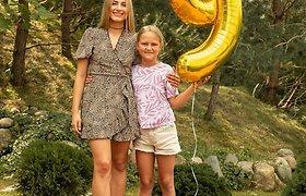 Stonkų dukros Cecilijos 9-ojo gimtadienio šventė