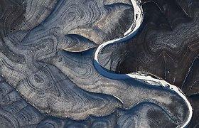 """10 stulbinančių """"Landsat"""" palydovų užfiksuotų vaizdų"""