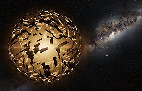Kaip juodosios skylės galėtų aprūpinti energija ateivių civilizacijas?