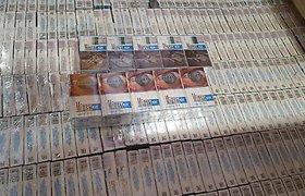 Cigarečių kontrabanda Raigardo kelio poste