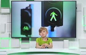 Būk saugus kelyje. Kalba vaikai. Kaip teisingai elgtis kelyje? I d.