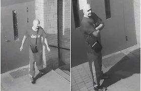 Iš įstiklintų durų beliko šukės: Alytaus pareigūnai ieško įvykio liudininkų