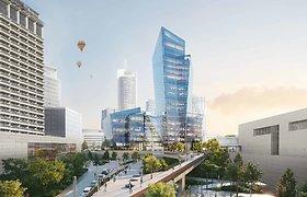 D.Libeskindo suprojektuotas verslo centras sieks suburti verslo lyderius