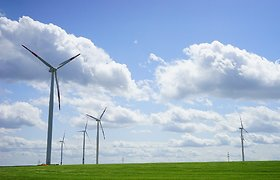 """""""Enefit Green"""" plečia veiklą Baltijos šalyse: bendrovė Estijoje užbaigs vėjo jėgainių parko statybas"""