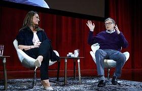 Melinda Gates ir Billas Gatesas