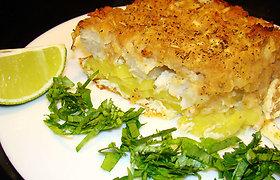 Mairūno receptai: žuvies užkepėlė (nuotraukos)