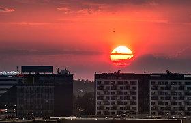Dangus prieš Saulės audrą