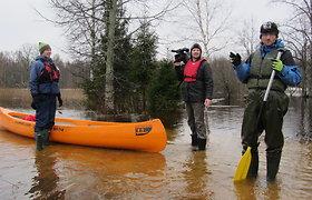 Žygis kanojomis Somos nacionaliniame parke Estijoje
