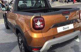 """Dacia Duster"" pikapo variantai"