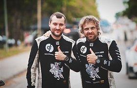 """Benediktas Vanagas pardavė savo ralio automobilį """"Škoda Fabia"""""""