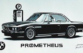 Skamba kaip fantastika: BMW benziną netrukus gamins iš oro