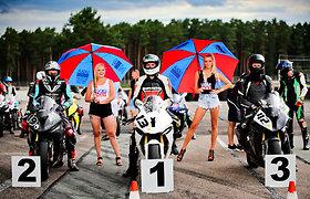 """Motožiedo čempionato etape Rygoje lietuviai konkuravo su latviais ir estais: Šarūno Plado """"britva"""" buvo nepavejama"""