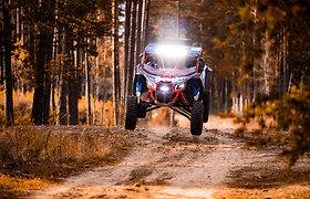 """""""Specialist Racing Team"""" komanda – Dalius Olechnavičius ir Aidas Bubinas – startuos Dakaro ralyje 2022 m."""