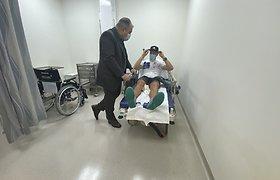 Arūnas Gelažninkas po traumos atsidūrė Dubajaus ligoninėje