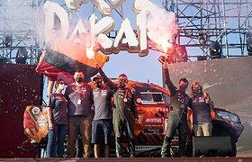 Antanas Juknevičius pristatė 2021 m. Dakaro filmą