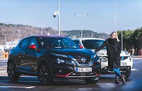 """Naujas ir senas """"Nissan Juke"""""""