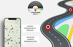 """TKA ir Kelių direkcija paskelbė naują """"Juodųjų dėmių"""" žemėlapį"""