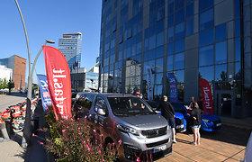 Elektromobilių varžybų 2021 startas