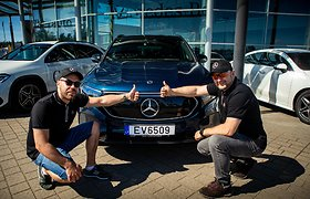 """Elektromobilių lenktynėse pirmą kartą startuoja """"Mercedes-Benz"""""""