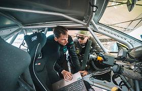"""""""Neste Dream 2 Drive – Tauras Racing"""" komandos automobilis"""