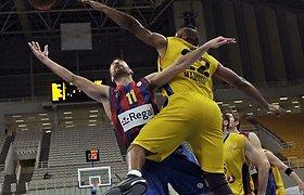 """""""Barcelona"""" užtikrintai žengė į Eurolygos ketvirtfinalį"""