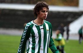 Šeštadienį A lygoje tylos minute bus pagerbtas mirusio jauno futbolininko atminimas