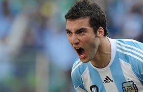 Rezultatyviausias planetos pirmenybių futbolininkas – Gonzalo Higuainas