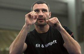 Pasaulio bokso čempionas Vitalijus Kličko pavadino Nikolajų Valujevą baimės vergu (video)