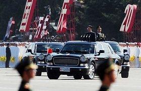"""Kiniškas limuzinas """"Hongqi"""""""