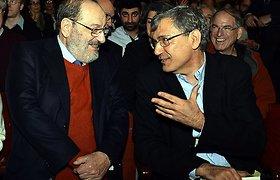 Umberto Eco ir Orhanas Pamukas susitikę papasakojo, kodėl tapo rašytojais