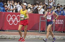 Marius Žiūkas Tokijo olimpiadoje aplenkė 24 varžovus