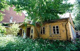 Mediniai namai Kauno naujamiestyje